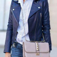 Leather appropriate @parkernewyork #LoveSpring