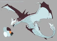 Crystal Sharky Wyvern DC by Screeches on DeviantArt Fantasy Dragon, Dragon Art, Fantasy Art, Fantasy Monster, Monster Art, Creature Feature, Creature Design, Tag Art, Creature Drawings