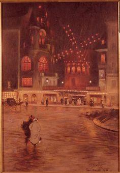 Everain's Planet of Hobgoblins, Tea, & Artichokes Children Of The Revolution, Cincinnati Art, Art Articles, Russian Painting, Paris Ville, City Art, Paris Travel, Cabaret, Watercolor Illustration