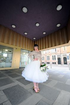 City bride shoot for Frock, Nottingham Photographer Duncan Oakley Model Eve Butler