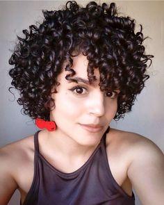 Short Sassy Hair, Short Curly Haircuts, Curly Hair Cuts, Permed Hairstyles, Short Hair Cuts, Curly Hair Styles, Natural Hair Styles, Hair Today, Hair Dos