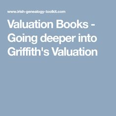 Valuation Books - Go