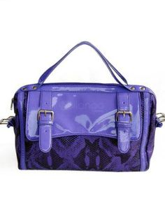 Modern 35*15*25cm Purple PU Leather Womens Tote Handbag - Milanoo.com