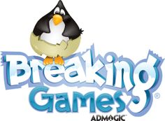 Breaking Games logo - our penguin!! SPLUB s his name,
