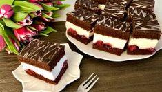 Kostka Szwarcwaldzka Food Cakes, Tiramisu, Waffles, Cake Recipes, Cheesecake, Food And Drink, Cooking Recipes, Blog, Cookies