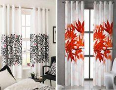 Persianas y cortinas de flores