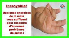 Incroyable! Quelques exercices de la main vous suffisent pour résoudre d...