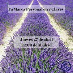 Descubre hoy las 7 claves para construir una marca personal desde cero ATENCIÓN! PLAZAS LIMITADAS! Jueves 27 de Abril 22:00 (Madrid) Webinar Gratis. Accede Ahora! http://bit.ly/2pWYa8h  #moneymaker #EstiloDeVida #movimientocontinuo #MonetizaTuPasión #ViveConGanas #marcapersonal