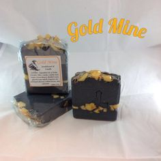 Goldmine Soap ...scented with Sandalwood and Vanilla