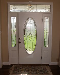 Decorative Glass Solutions :: Custom Stained Glass & Custom Leaded Glass Windows, Doors and More. Leaded Glass Windows, Glass Doors, Custom Stained Glass, Entry Way Design, Window Panels, Beveled Glass, Glass Art, Artsy, Front Doors