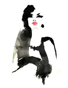 "Saatchi Online Artist Sylvia Baldeva; New Media, ""Fashion illustration"" #art"