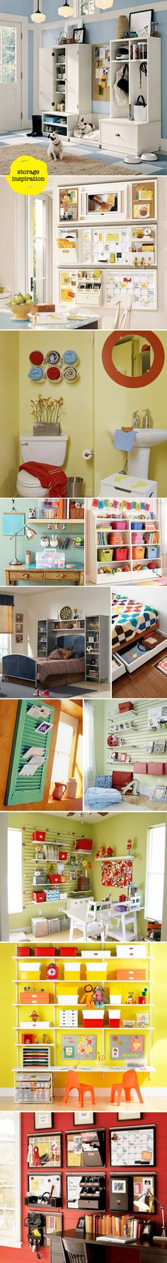 Lots of great ideas for organization.