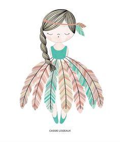 "235 Synes godt om, 12 kommentarer – Cassie Loizeaux (@cassieloizeaux) på Instagram: ""Feather Dress Dreamer...new prints coming soon!!!"""