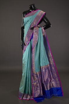 Banarsi- khatan silk saree with blouse