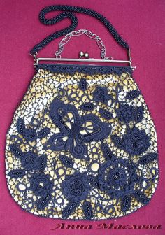 Uncinetto d'oro: Meravigliosa borsa!!!