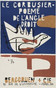 The Collection | MoMA Le Corbusier, Illustration Photo, Graphic Design Illustration, Graphic Design Typography, Graphic Art, Maurice Utrillo, Poster Ads, Expositions, Exhibition Poster