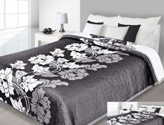 Obojstranné prehozy na postele čierno bielej farby Furniture, Design, Home Decor, Blankets, Decoration Home, Room Decor, Home Furnishings, Blanket