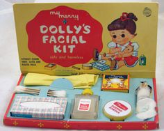 Vintage My Merry Dolly's Facial Set