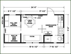 1000 ideas about tiny cabin plans on pinterest cabin for 12 x 24 cabin floor plans