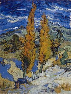 Vincent van Gogh: The Paintings (Two Poplars on a Road Through the Hills) Van Gogh is my favorite.Vincent van Gogh: The Paintings (Two Poplars on a Road Through the Hills) Van Gogh is my favorite. Van Gogh Museum, Art Museum, Vincent Van Gogh, Art Van, Van Gogh Arte, Van Gogh Pinturas, Cleveland Museum Of Art, Cleveland Ohio, Van Gogh Paintings