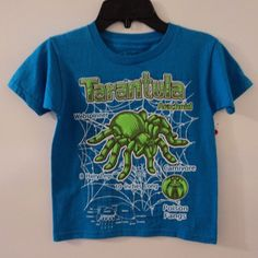 New Tarantula Spider Boy's T-Shirt Size 4 #Rudeboyz #Everyday