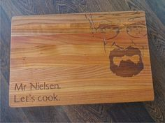 Let's cook. YOUR NAME Personalized Lazer Engraved by AlgisCrafts
