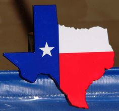1c3b1a20adb Painted State of Texas Hitch Cover at CustomHitchMe LLC Trailer Hitch