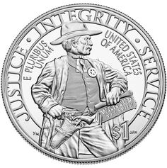 2015 U.S. Marshals Service 225th Anniversary Commemorative Silver Proof Coin reverse