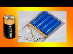 █ How To Make Battery Holder █ - YouTube