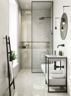 13 Rental Renovations You Can Probably Get Away With - bathroom - badezimmer Home, Bathroom Interior, Bathroom Decor, Bathroom Makeover, Bathroom Design Luxury, Bathroom Design Small, Luxury Bathroom, Bathroom Interior Design, Bathroom Design
