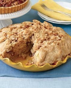 Apple Crumb Pie from Martha Stewart  Recipe and instructions  YUM!