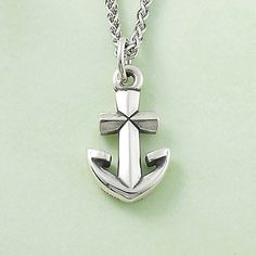 Anchor Cross Charm #jamesavery