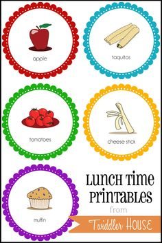 Twiddler House: Lunch System Update {with FREE printables!}