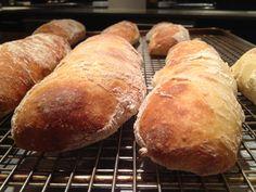 Rustic baguettes #recipe