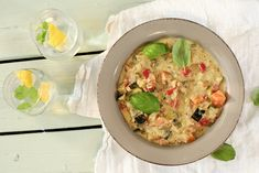 Ukemeny for uke 8 Meatless Monday, Hummus, A Food, Curry, Eggs, Breakfast, Ethnic Recipes, Morning Coffee, Egg