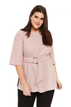 8b4f1b07b9ed0 Apricot D-Ring Plus Size Top for Women •Dropship plus size clothing  popularly online