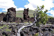 Craters of the Moon National Monument and Preserve, Idaho, 1986