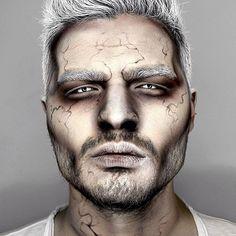 Electro Zombie. #maquillaje #Halloween #makeup