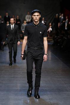 Dolce & Gabbana Men Winter 2016 Fashion Show