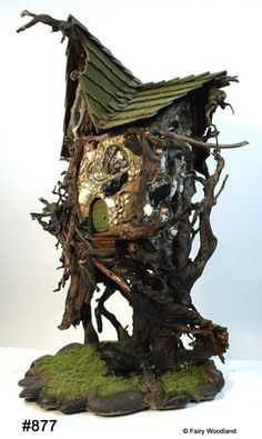 """Real Fairy Houses 