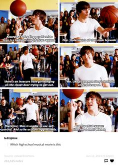 """16 """"High School Musical"""" Questions That Need To Be Answered Or Else I'm Calling Up Zac Efron's Mom 16 """"High School Musical"""" Questions That Need To Be Answered Or Else I'm Calling Up Zac Efron's Mom Stupid Funny, Funny Jokes, Hilarious, Funny Stuff, Funny Things, Random Stuff, Dad Jokes, Random Things, Little Girl Bangs"""