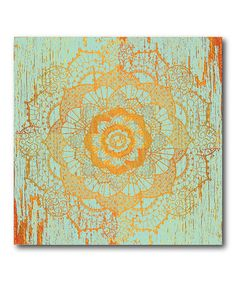 Another great find on #zulily! Boho Moroccan I Wrapped Canvas #zulilyfinds