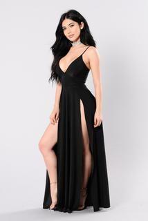 You Got What I Need Dress - Black