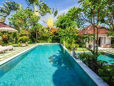 Villa Senang | 4 bedrooms | Seminyak, Bali #bali #villa #exterior #swimmingpool #garden