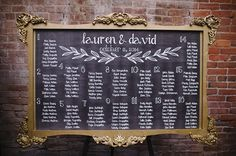 Chalkboard Wedding Seating Chart Elegant 15 Creative Chalkboards for Wedding Ideas Everafterguide Chalkboard Seating Charts, Mirror Seating Chart, Reception Seating Chart, Wedding Ceremony Seating, Table Seating Chart, Seating Chart Wedding, Ceremony Programs, Wedding Tables, Reception Ideas