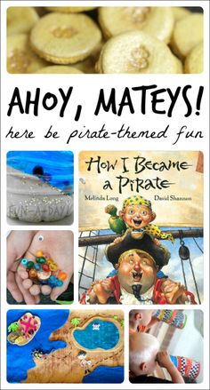 "14 Ideas that ""Arrrr!"" Fun for a Preschool Pirate Theme - Fun-A-Day!"