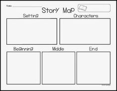 AMAZING freebie to use for story maps. Perfect for Kindergarten to sketch their plans before writing! :)AMAZING freebie to use for story maps. Perfect for Kindergarten to sketch their plans before writing! 1st Grade Writing, First Grade Reading, Teaching Writing, Student Teaching, Writing Activities, Narrative Writing For Kindergarten, Teaching Plot, Start Writing, Kindergarten Language Arts