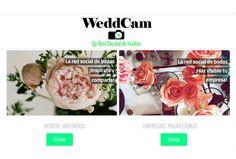 La red social de bodas  www.weddcam.es
