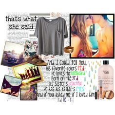 """""""im a little drunk on you, and high on summertime."""" by lidle on Polyvore"""