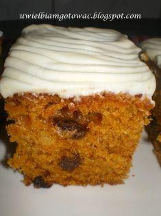 Ciasto marchewkowe Cake Recipes, Dessert Recipes, Desserts, Christmas Appetizers, Food Cakes, Vanilla Cake, Oreo, French Toast, Muffin
